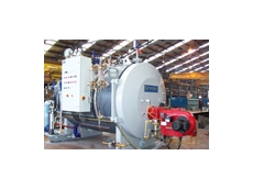 Steampac RF steam boilers are compact and fuel efficient