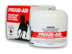 Proud-Aid wound treatment for horses from Redmec Pty Ltd