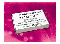 TR1M 128-channel 12.5 kHz/ 25kHz Narrow Band FM transceiver module