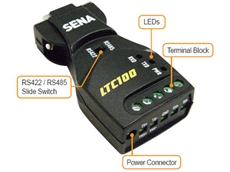 The LTC100 serial converter for long range communication