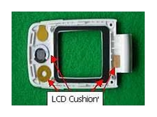 Conductive EMI LCD cushion