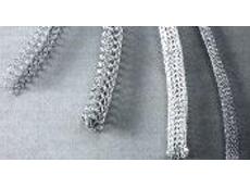 Ultraflex beryllium knitted wire shielding