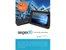 Aegex's intrinsically safe Windows 10 tablets