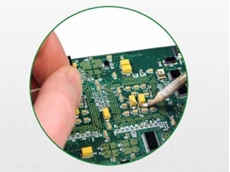 Check your electronic asset spares for damage