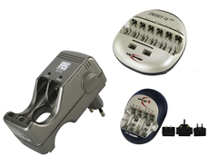 Battery chargers and accessories