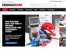 A view of the DesignSpark website