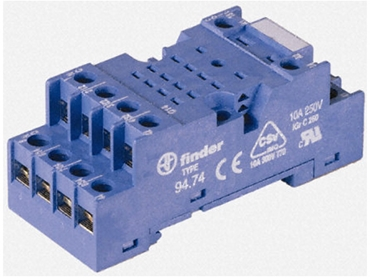 Panel mount interface relay module