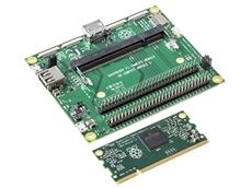 Raspberry Pi 3 Compute Module with Compute Module IO Board