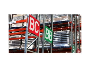 End of Aisle Signs - Red or Green Background