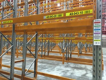 Beam Coloured Tip Horizontal & Upright Labels