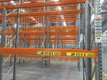 Beam Coloured Tip Upright & Horizontal Labels