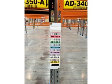 RackID Standard Upright Labels
