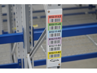 RackID Upright Labels