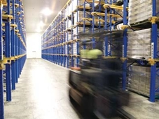 P Pullar & Co's cold store warehouse operation