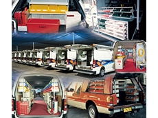 Rak-a-Van complete vehicle shelving systems