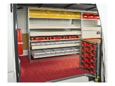 The van shelving system