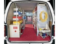 Rak-a-Van shelving systems