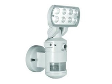 Outdoor Sensor Security Lights with Day and Night Modes by Raneye Systems