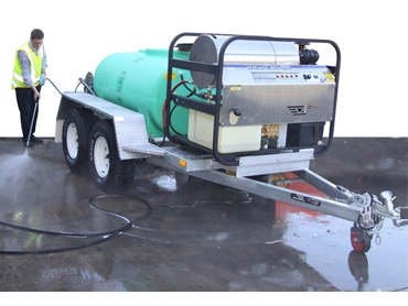 Blast It Pressure Wash Trailers