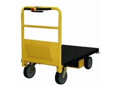 Flat-bed Rapid-move Electric Trolley with 500kg capacity from Rapini