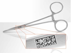 Laser marking is the preferred identification process for medical components as it provides permanent and precise marks with text smaller than the eye can see