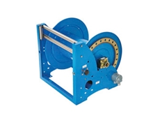 Heavy Duty Hydraulic, Pneumatic, Electric and Manual Rewind Hose Reels from ReCoila