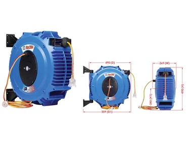 Composite Hose Reels Feature Specific Designs for Specialist Applications