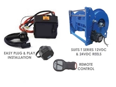 ReCoila offers a new remote control accessory designed for effortless control of steel hose reels
