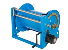 T series of heavy duty metal construction reel