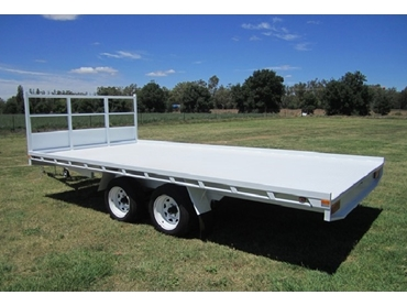 Custom Built Trailers from Rebel Equipment