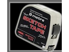 Sketch tape measure