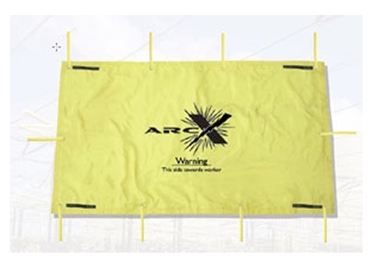 Arc flash suppression blanket