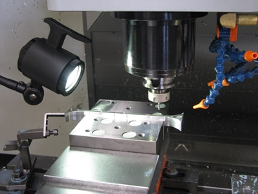 LED 3 –pin point lighting for CNC machines