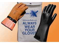 Oberon electrical rubber insulating gloves
