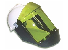 FaceFit ArcShield face shields provide protection for NFPA 70E Hazard Risk Category 2