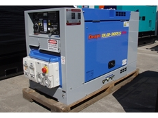 Denyo DLW300LS narrow body diesel welder