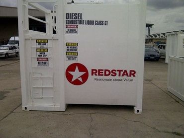 Diesel fuel tanks from REDSTAR Equipment