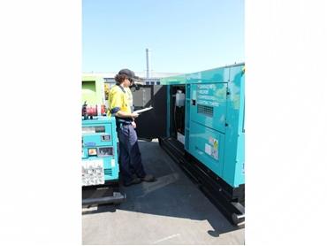 Generator, compressor and welders servicing and maintenance