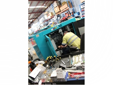 Generator rebuilds, modifications and testing from REDSTAR Equipment