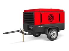 CPS 350-10 portable compressor