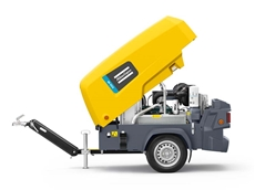 Series 8 Atlas Copco portable compressor