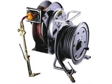 Hannay Welding Reels range, for arc and gas welding, and cutting operations