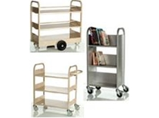 Book and laptop trolleys
