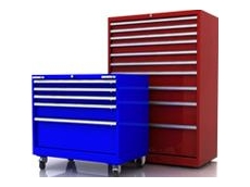 High density drawer storage cabinets