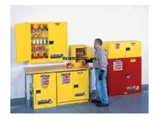 Justrite flammable storage safety cabinets