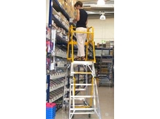 Navigator 3155mm Mobile Ladders available from Reflex Handling and Storage