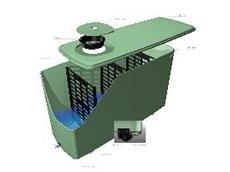 Slimline 2100 model of water tanks