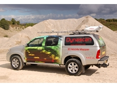 Quarry scanning using MDL's 3D mobile mapping system Dynascan