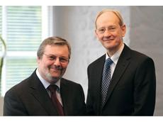 John Deer and Sir David McMurtry