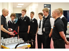 Welsh students are introduced to Renishaw's manufacturing processes
